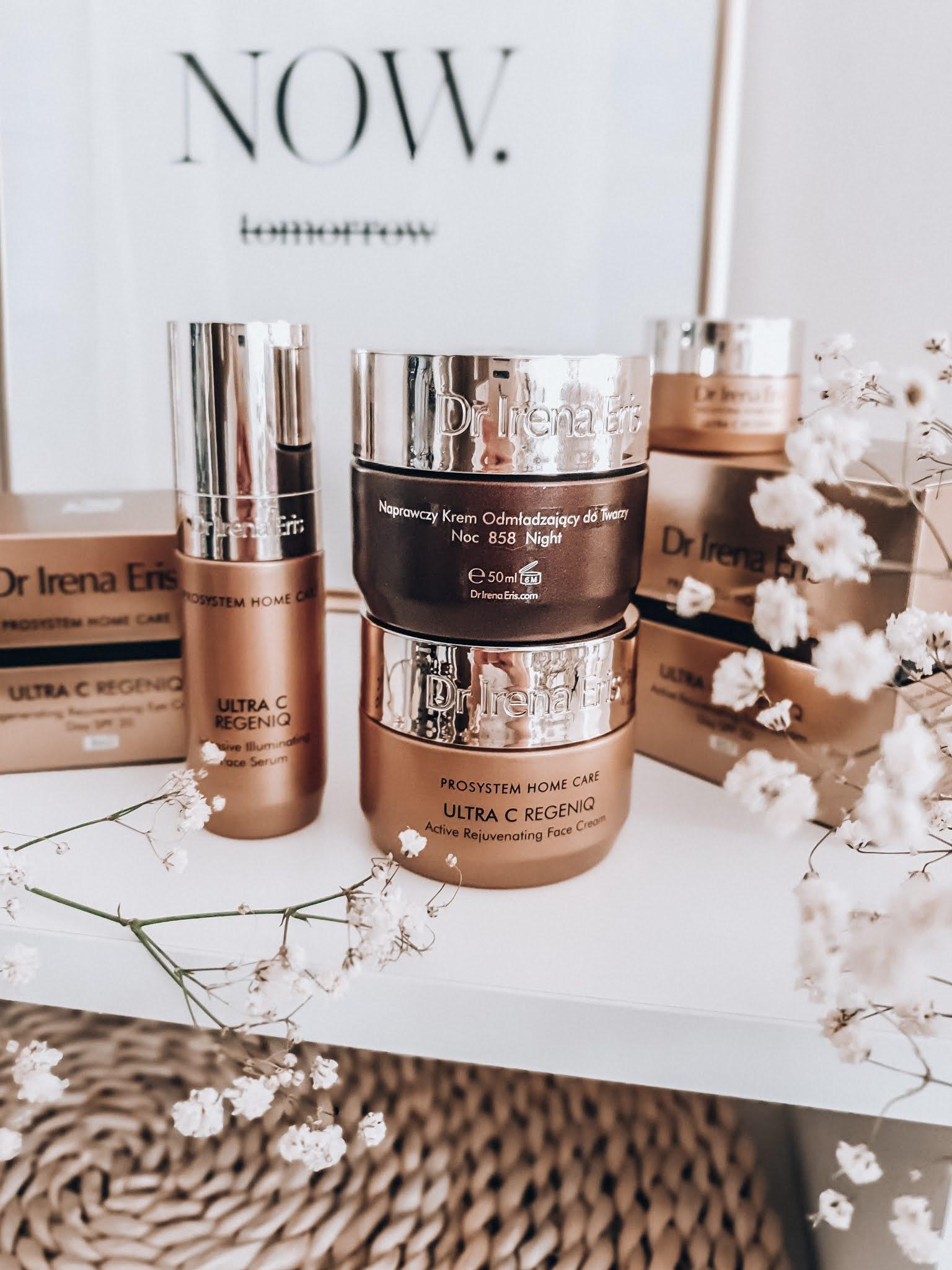 Profesjonalna linia kosmetyków Dr Irena Eris - Unikalna terapia wygładzająco-rozświetlająca ZABIEG NA TWARZ