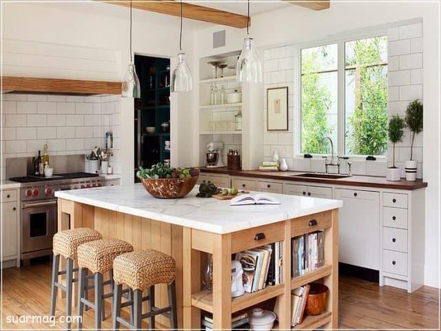 مطابخ خشب 2020 14   Wood Kitchens 2020 14