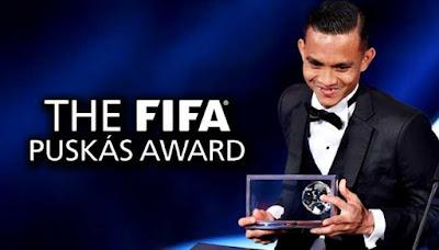 Faiz Subri Menang Anugerah Puskas Fifa 2016