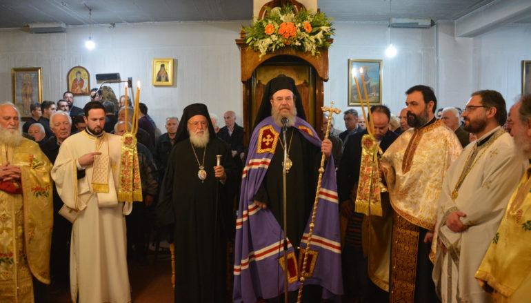 Ο Μητροπολίτης Ιερισσού στον  εορτασμό του Αγίου Τρύφωνος στην Τρίπολη