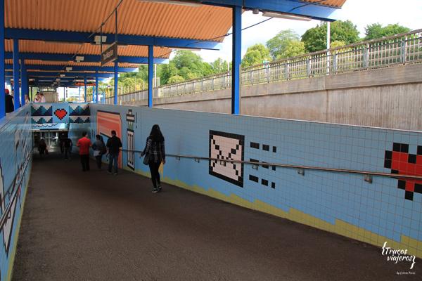 Thoridsplan station in Stockholm