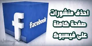 Delete Facebook Posts