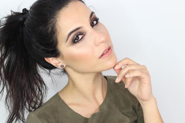 Ahumado con Reflejos Verdosos | Maquillaje con sombras Nabla