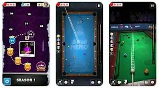 تحميل لعبة البلياردو مهكره, 8Ball Pool Hero apk مهكرة جاهزة, تهكير كامل hack mod,  اخر اصدار للاندرويد