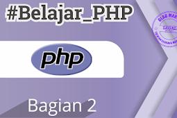 Penginstalan XAMPP-  Belajar PHP Bagian 2