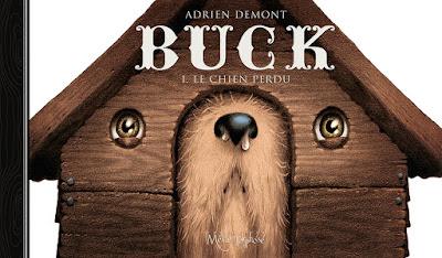 """couverture de """"BUCK T1"""" de Adrien Demont chez soleil"""