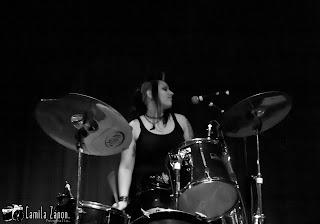 Clau, baterista das diabatz
