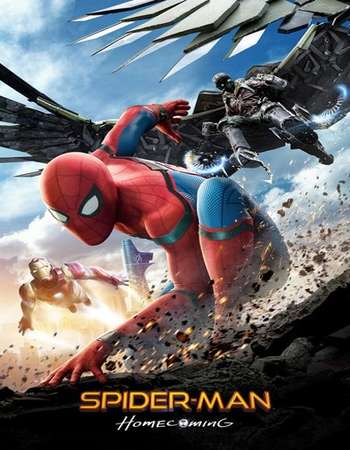 Spider-Man Homecoming 2017 Hindi Dual Audio Web-DL Full Movie