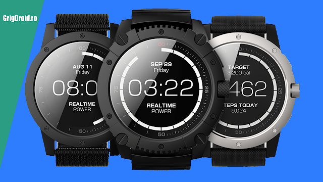 MATRIX PowerWatch, smartwatch