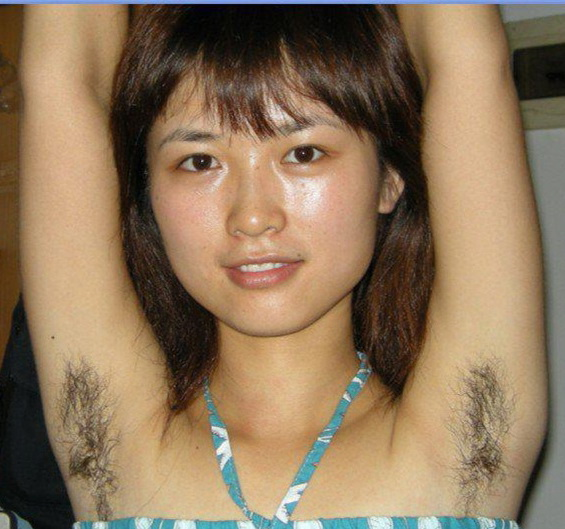 Asian girls with hairy armpits