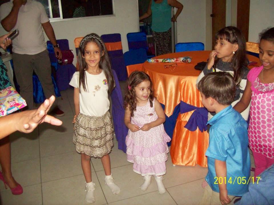 Princesas en la fiesta