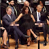 #OMG ! Check Out What #US Michelle Obama Was Doing To Her Husband And George Bush At An Event. Photo
