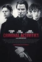 Criminal Activities (2015) Poster