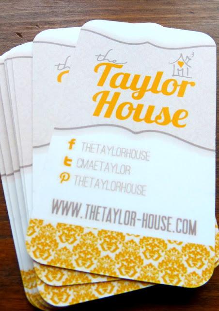 Blog business cards the taylor house blog business cards colourmoves