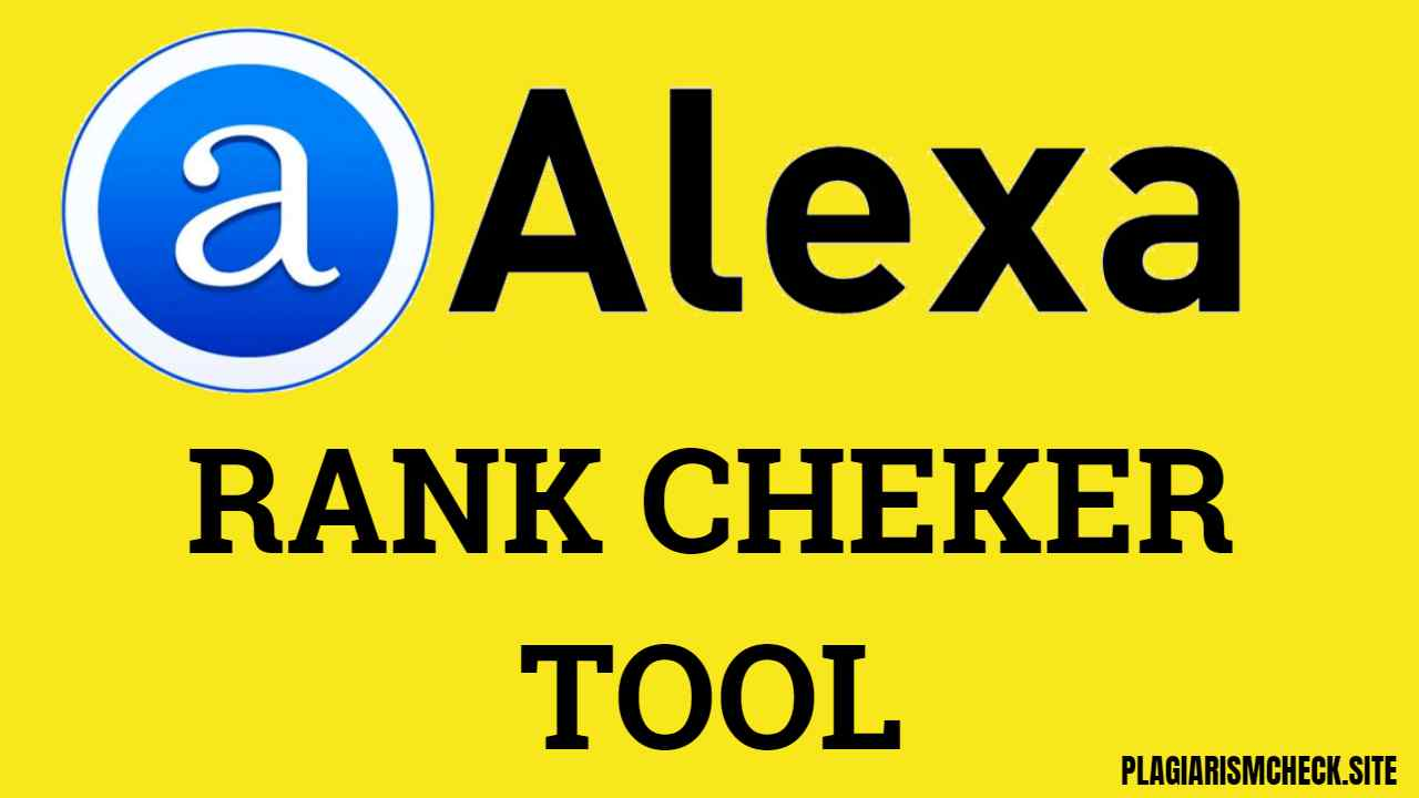 Alexa rank Checker tool-also knows as website rank Checker tool