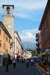 Town of Amatrice in Lazio Italy