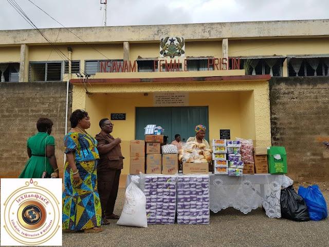 mildred menkiti at the Nsawam Female Prisons, Nsawam, Ghana 11