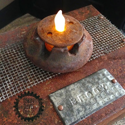 Handmade Pet Urn - Pet Keepsake box - Robin Davis Studio