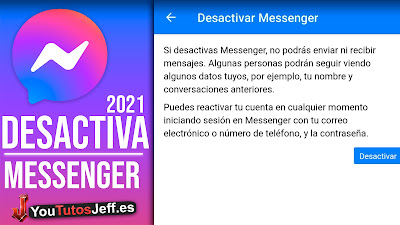 desactivar facebook messenger