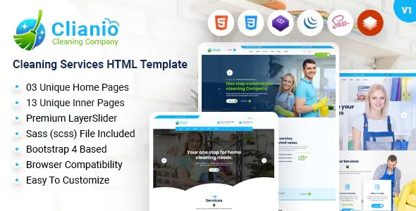 Best Cleaning Services HTML Template