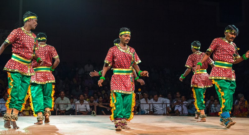 Silambattam Folk Dance from Tamil Nadu.