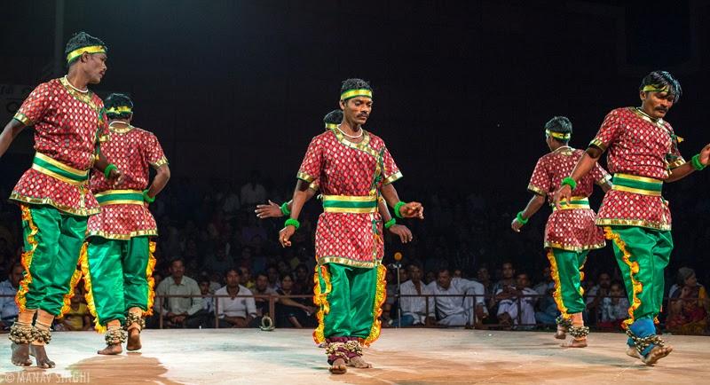 Silambattam Folk Dance from Tamil Nadu.