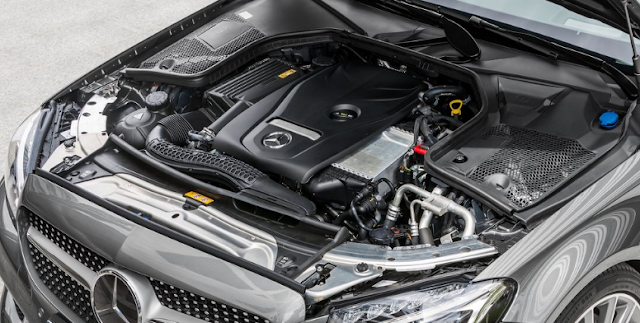 2017 Mercedes C-Class Coupe Engine
