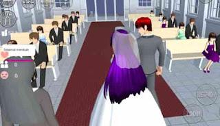 Cara Menikah dan Punya Anak di Sakura School Simulator Game