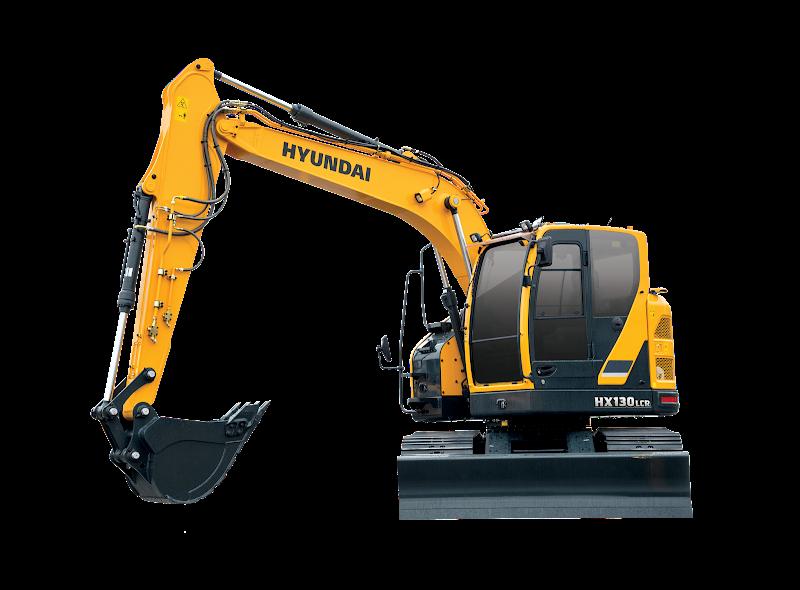 Hyundai Excavators HX130LCR
