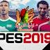 تحميل الاسطورة بيس 19 || PES 2019 PSP بالاندية العربية والاروبية والمنتخبات باخر الانتقالات والاطقم | ميديا فاير|| ميجا|