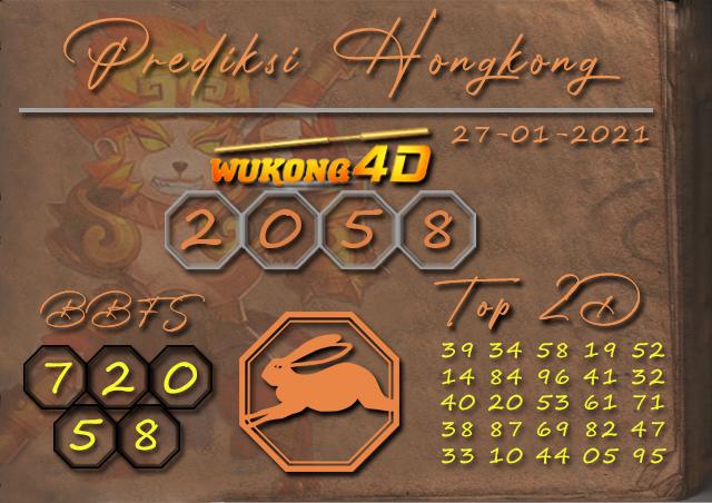 PREDIKSI TOGEL HONGKONG WUKONG4D 27 JANUARY 2021