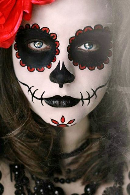 Scary Halloween Face Paint