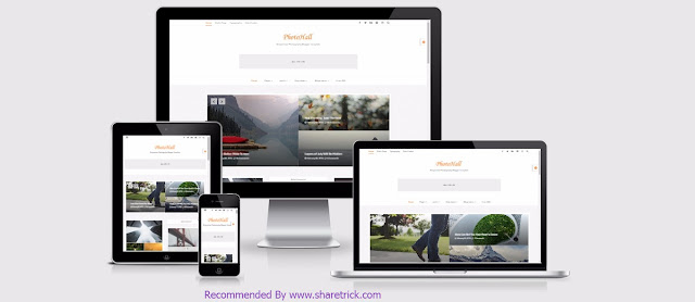 PhotoHall is a Bootstrap Based responsive blogger template. It's the best choice for your blog if you are looking for a Photography Blogger Theme.