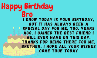 emotional birthday wishes for brother
