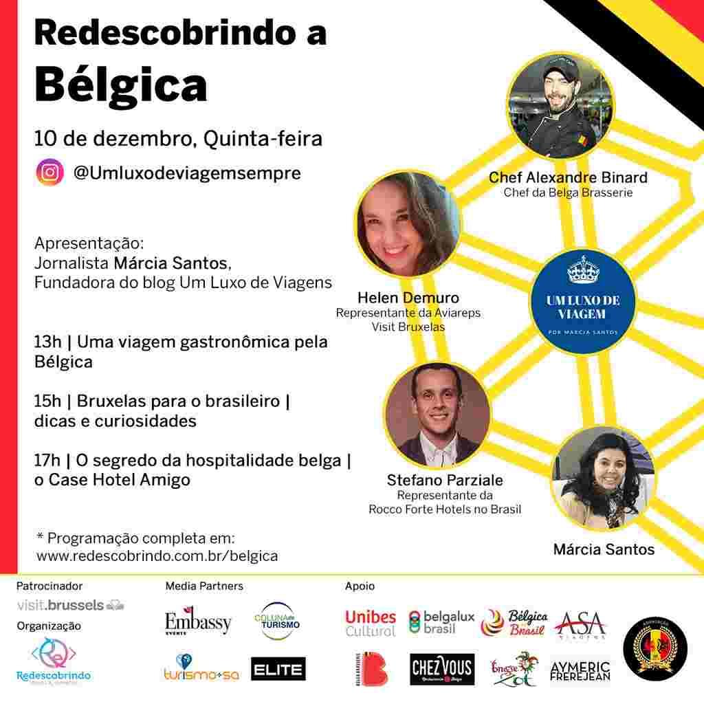 """Jornalista inova e cria """"festival"""" virtual sobre a Bélgica"""