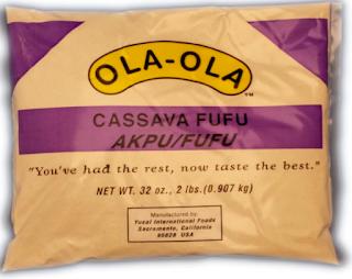 cassava fufu