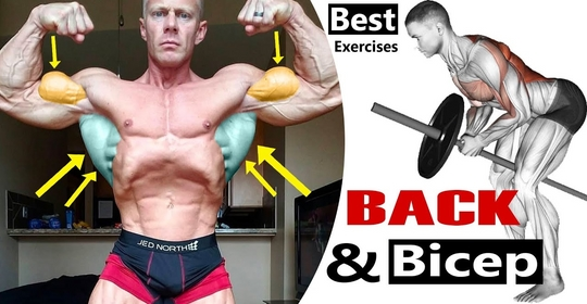 Complete Back and Biceps Workout Best Exercises