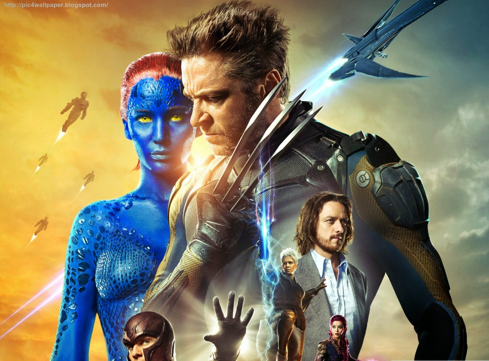 X Men Days of Future Past Wallpaper
