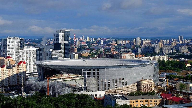 Central Stadium (Yekaterinburg), Rusia | Piala Dunia FIFA 2018