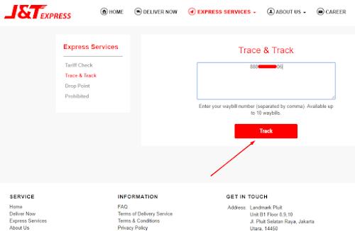 Cara Cek Pengiriman J&T Express Dengan Nomor Resi