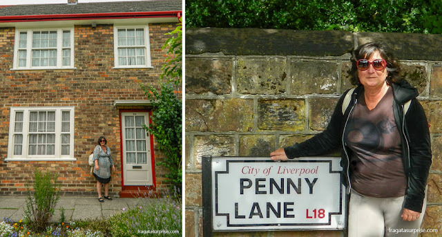 Casa de Paul McCartney e Penny Lane, Liverpool