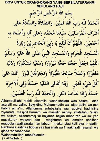 Mendoakan Orang Naik Haji : mendoakan, orang, Untuk, Orang-orang, Bersilaturrahmi, Sepulang, Mudah, Baitullah
