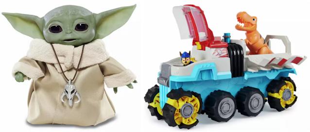 Yoda and Paw Patrol