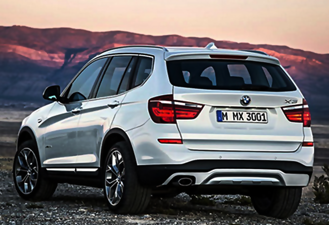 2017 BMW X3 Redesign To All Fields