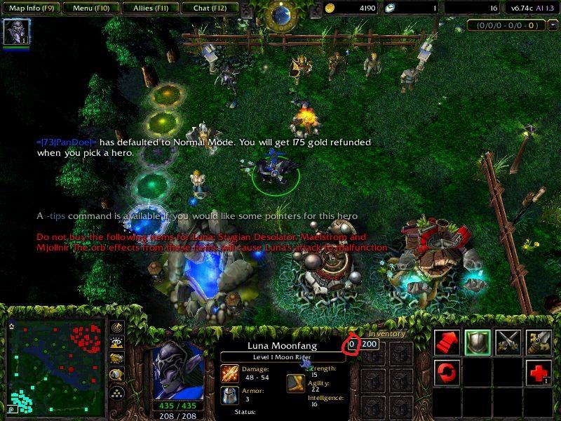 cheat exp warcraft iii frozen throne menggunakan cheat engine