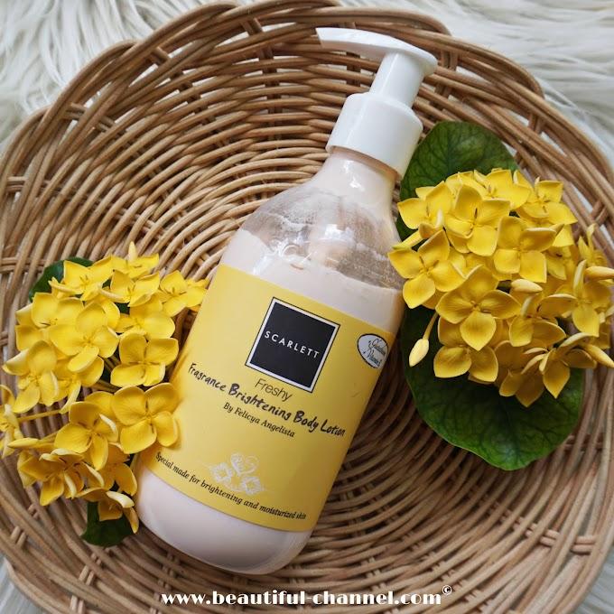 Review: Scarlett Fragrance Brightening Body Lotion Freshy