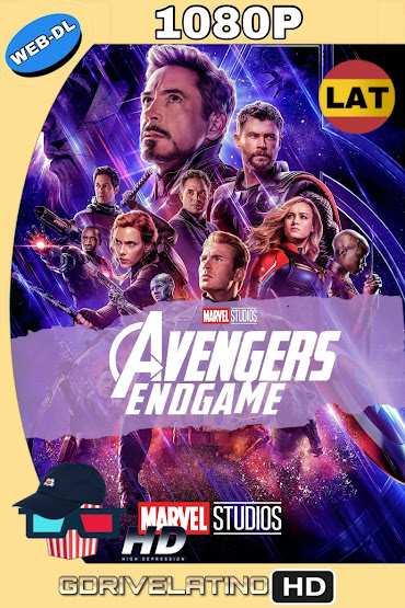Avengers: Endgame (2019) OPEN MATTE WEB-DL 1080p Latino-Ingles MKV