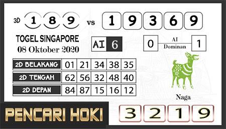 Prediksi Pencari Hoki SGP 45 Kamis 08 Oktober 2020