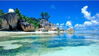 Belitung pulau nan indah resolusi tempat liburan tahun 2021