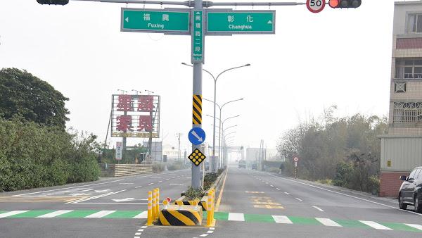 福興鄉南環路路面不平改善完工 解決彰化最爛一條路
